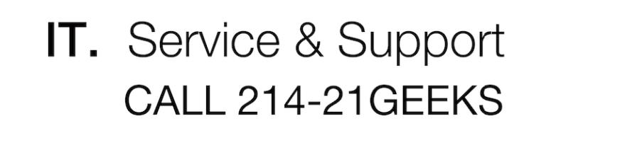 computer service dallas