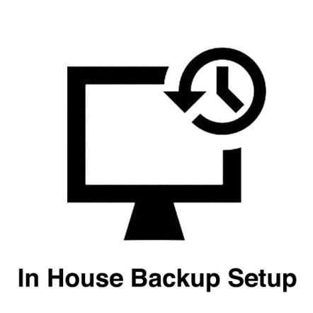 In House Backup Setup