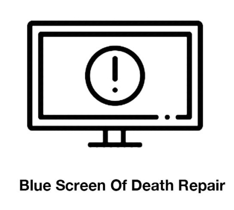 Blue screen of death repair