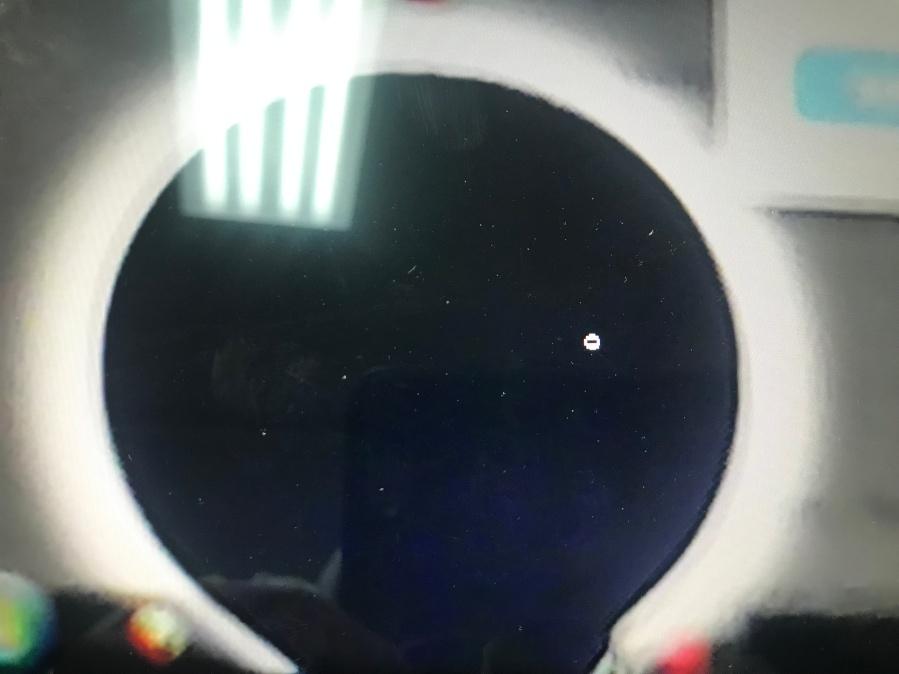 Black_Spots on screen GeeksStop Irving Texas1