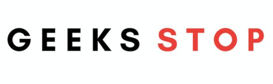geeks stop logo