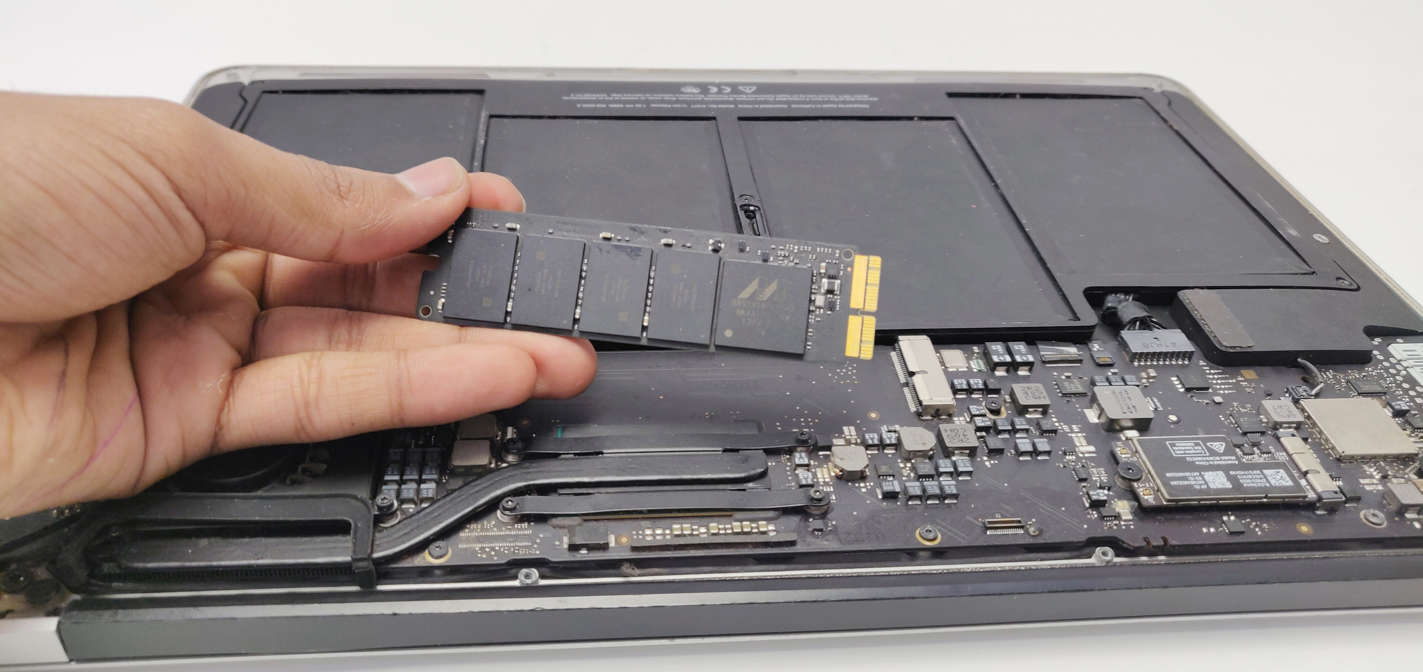 New SSD for macbook by Geeks Stop, Irving, Texas